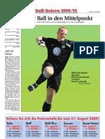 Fußball-Saison 2009/10