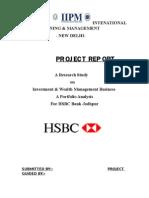 Hsbc Project Report