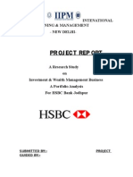 Hsbc Project Report