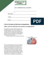 Guía C.Soc. CHile y su independencia 6° 2005