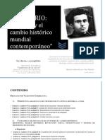 Seminario Gramsci y el cambio histórico