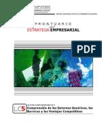 PRONTUARIO (LC5)_Entornos Genéricos, Barreras y Ventajas Competitivas
