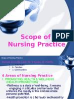 Scope of Nursing Practice