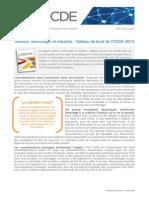 Tableau de bord STI 2013 - principales conclusions