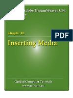 Learning Adobe DreamWeaver CS4 - Inserting Media