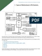 alighalehban.com-CompTIA A+ Lesson 1_Types of  Motherboard CPU Sockets,Bridges,BUS