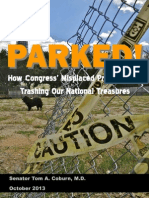 PARKED! How Congress' Misplaced Priorities are Trashing Our National Treasures