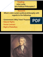 political philosophy of john locke