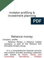 Investor Profiling & Investment Planning