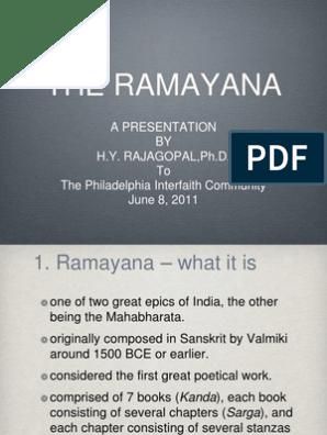 Ramayana ppt | Ramayana | Rama