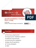 Snort® Installation, Configuration and Basic Usage