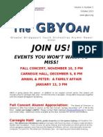 Alumni Newsletter October 2013