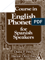 A Course in English Phonetics for Spanish Speakers