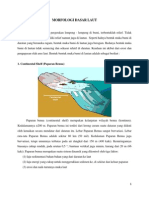 Morfologi Dasar Laut