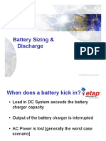 23 - Battery Sizing Discharge