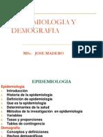 Epidemiologia Demografia Septiembre 2013