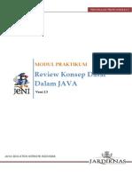 2.1 Review Konsep Dasar Java