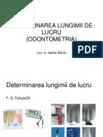 endodontie  determinarea LL, instrumentar.ppt