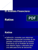 Analisis Financiero - Ratios