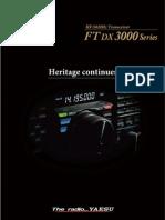 Ftdx3000 Eng Leaflet Nb