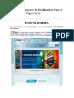 Telexfree Registro.Te Explicamos Paso A Paso Como Registrarte..pdf