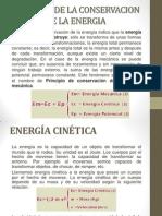 Principio de La Conservacion de La Energia
