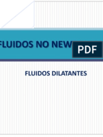 Fluidos No Newtonianos (dilatantes)