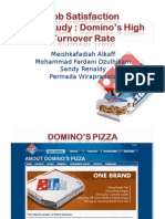Case Study OB - Domino's Pizza (Job Satisfaction)