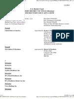Federal Pacer Docket USA Ex Rel Davidson, MD v. Davita Inc