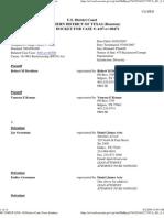 Federal Pacer Docket SDTX Davidson v. Grossman