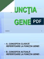 Curs 4 MG Functia Genei OCT 2010
