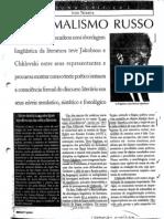 Ivan Teixeira - O Formalismo Russo (Cult Ago1998)