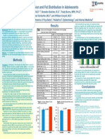 Depression and Fat Distribution in Adolescents AACAP Poster