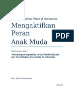 Kajian kebijakan anak muda Indonesia