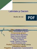Latinitate si dacism XI F.ppt