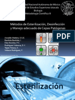 MetodosdeEsterilizacionDesinfeccionyManejodeCepasPatogenas