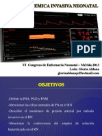 Presion Sistemica Invasiva - REDVENEO