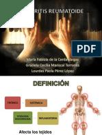 Artritis Reumatoide Del Aldulto Bna