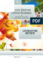 Acute Diffuse Otitis Externa