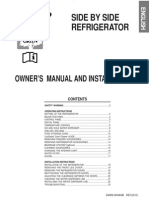 Samsung RS21JG Fridge-Freezer Manual