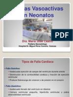 Drogas Vasoactivas Neonato - REDVENEO
