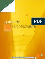 Jury (Www.a Cp.fr, Guide de l Architecte Jure Mise a Jour Janv 2010)