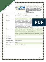 Sistematización de prácticas de implementación Ley 693. Ley de Seguridad y Soberanía Alimentaria en Nicaragua. Sistematización en los municipios de en los municipios de Somoto, Totogalpa, Macuelizo, Mozonte y Tipitapa