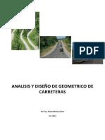 Analisis y Diseño Geométrico Carreteras-DG-2001