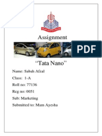 Tata NANO.docx