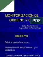 Monitorizacion de O2 - REDVENEO