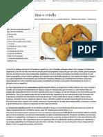 Receta de Empanada Argentina o Criolla - Recetasderechupete