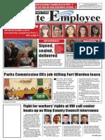 Washington State Employee, 8/2013