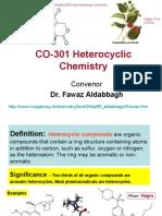 CO 301 Hetero Cyclic Chemistry