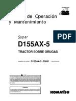 Operacion y Mantencion D155AX-5